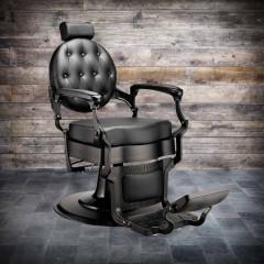 fauteuil barbier CAMDEN black suprême