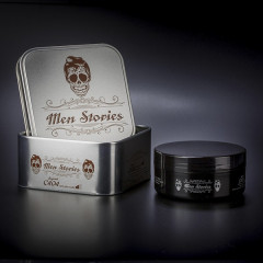 Cire effet mouillé Men Stories  boite métal C404  150ML