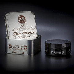 Cire mat Men Stories  boite métal 150ML